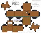 Cubeecraft de Scooby Doo. Manualidades aRaudales.