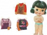 Recortable de muñecas 51. Manualidades a Raudales.