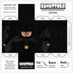 Papercraft de Batman Arkham. Manualidades a Raudales.