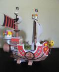Papercraft recortable de un Barco pirata infantil. Manualidades a Raudales.