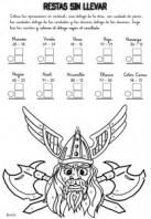 Colorear con sumas 13. Manualidades a Raudales.