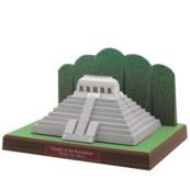Papercraft building imprimible y armable del Templo Inscripciones en México. Manualidades a Raudales.