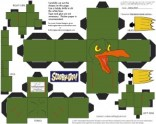 Scooby Doo - Pajaro. Manualidades aRaudales.
