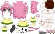 Papercraft Anime - Lala Satalin Devluke. Manualidades a Raudales.
