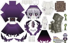 Papercraft Anime - Lich. Manualidades a Raudales.