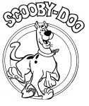 Colorear Scoby Doo. Manualidades a Raudales.
