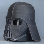 Papercraft recortable y armable de Darth Vader de Star Wars. Manualidades a Raudales.