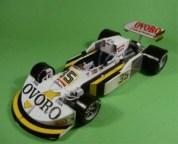 Papercraft imprimible y armable del Fórmula 1 de 1976 GP France March-761. Manualidades a Raudales.