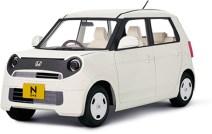 Papercraft del coche Honda N-One. Manualidades a Raudales.