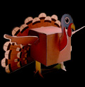 Papercraft de Thanksgiving. Manualidades a Raudales.