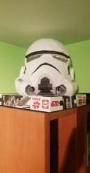 Papercraft de un guardia de asalto de Star Wars. Manualidades a Raudales.