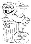 Colorear dibujos de Halloween. Manualidades a Raudales.