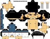 Cubeecraft del Hombre Lobo. Manualidades a Raudales.