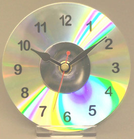 reloj cd