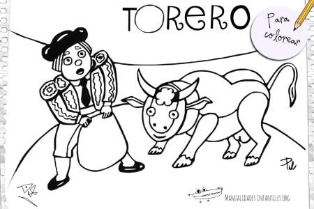 best Dibujos De Toreros Para Imprimir Y Colorear image collection