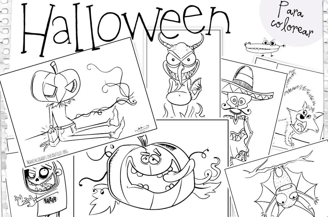 Dibujos de halloween manualidades infantiles rh manualidadesinfantiles org manualidades para dia de muertos dibujos para halloween