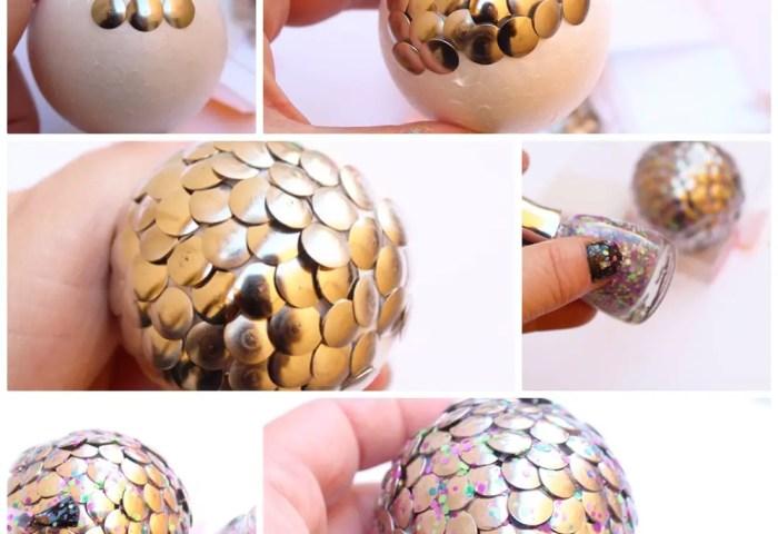 Huevo De Dragón Metálico Actividades Para Niños Manualidades