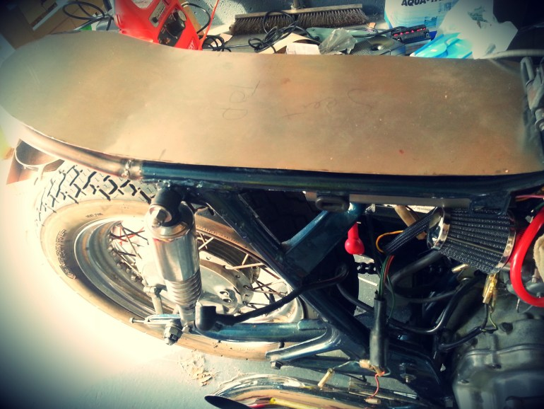 Project Honda Cb450 Cafe Racer Seat Shaping