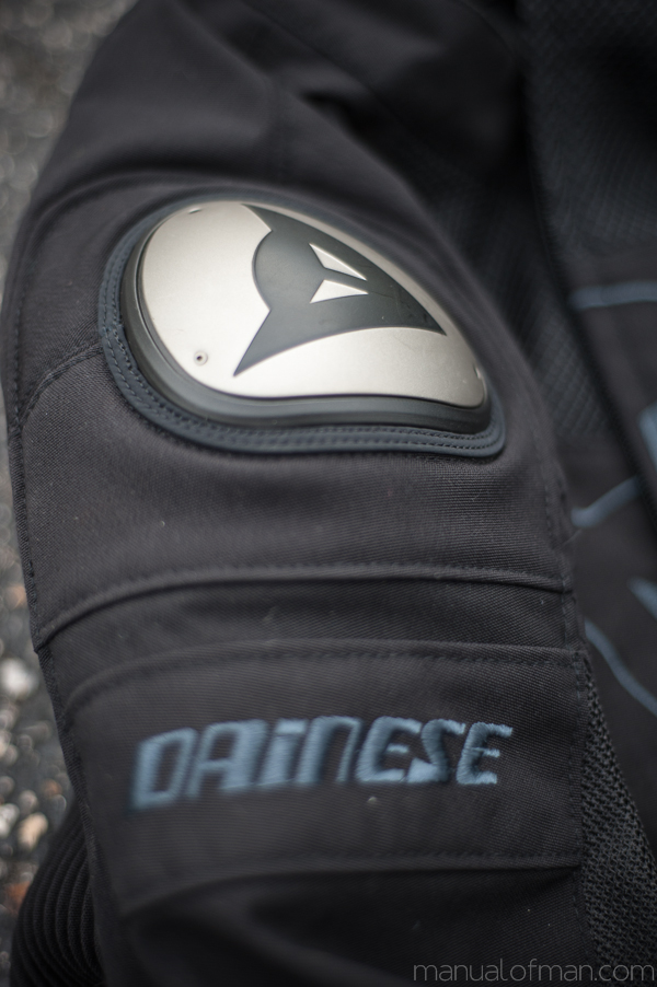 Dainese Super Speed Textile Jacket - Aluminum Shoulder Slider