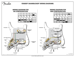 Fender ShawBuckertrade 1 Humbucking Pickup | ShawBucker Pickups Wiring Diagram