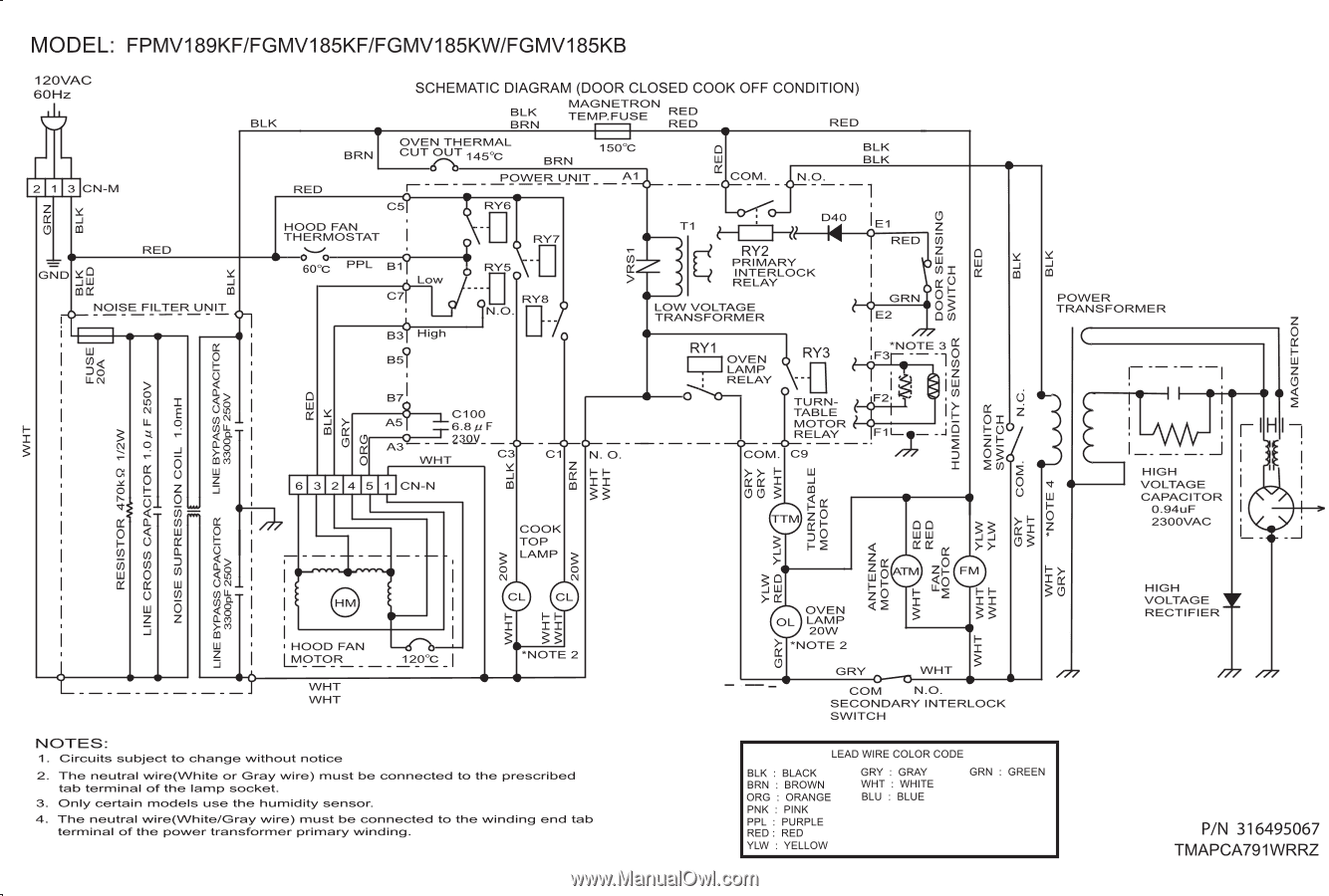 Refrigerator Wiring Diagram Images Of Wiring Diagram For Frigidaire