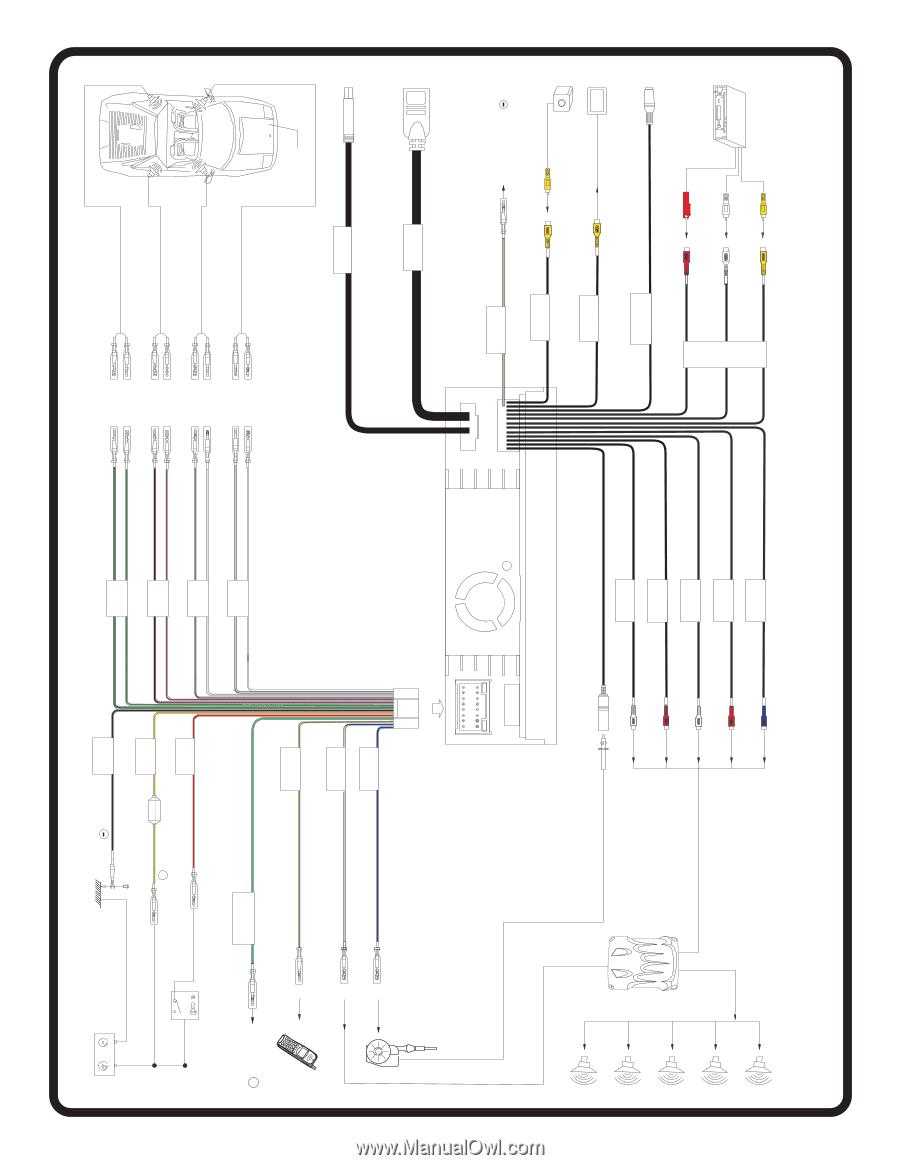 Jensen Dvd Wiring Diagram Detailed Schematics Harness 9312 Reinvent Your U2022 Radio