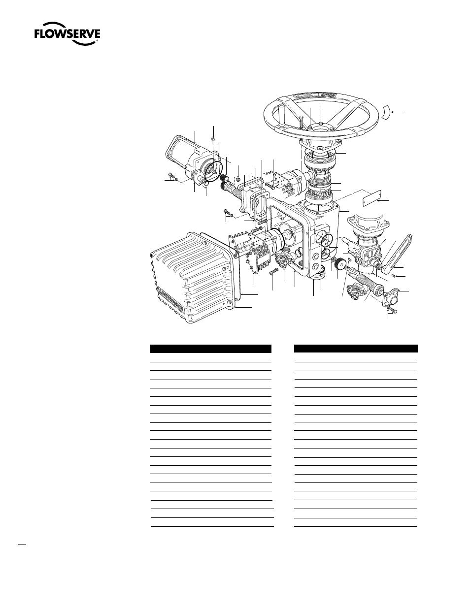 Parts 20 Limitorque L120