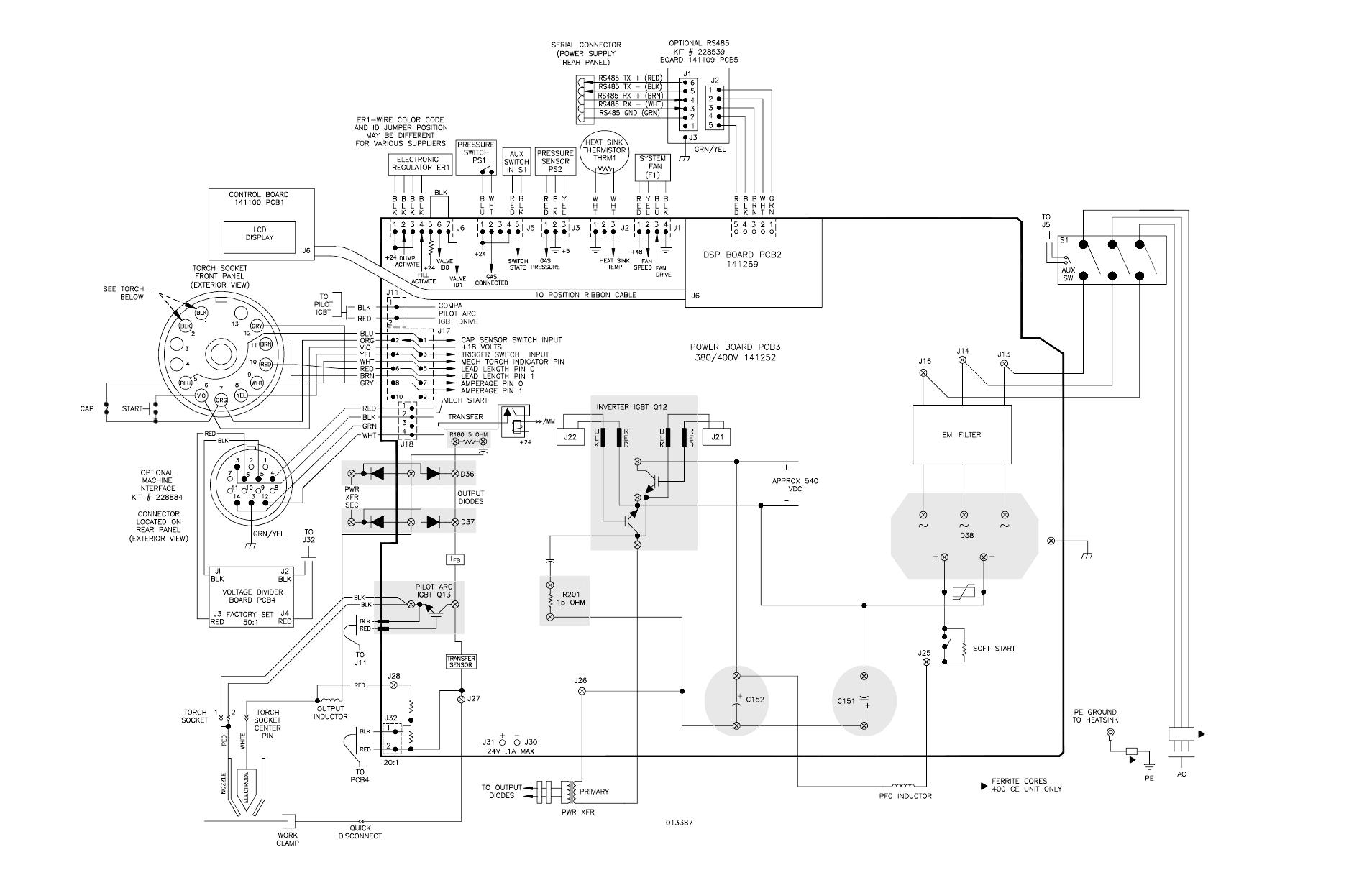 Schematic Diagram 380 V Ccc 400 V Ce Schematic Diagram