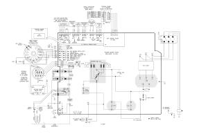 Schematic diagram (380 v ccc, 400 v ce), Schematic diagram
