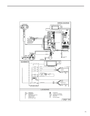 Schematic, Wiring diagram   Friedrich KUHL R410A User Manual   Page 72  87