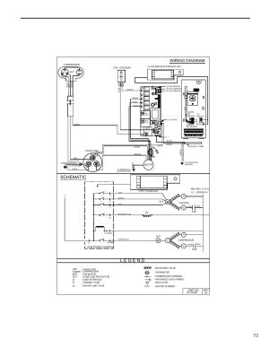 Schematic, Wiring diagram | Friedrich KUHL R410A User