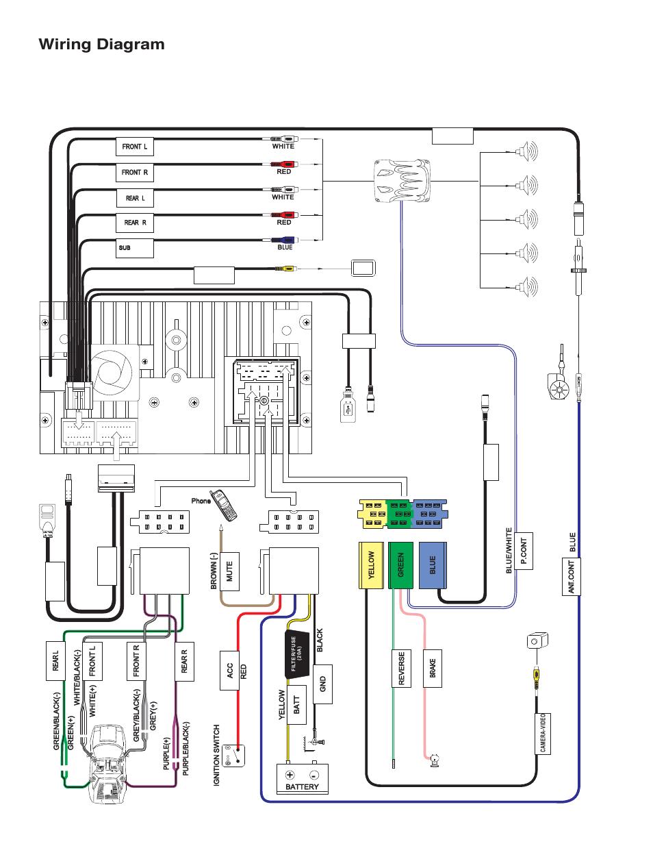 viper antenna wiring diagram online wiring diagram Viper 5701 Wiring-Diagram