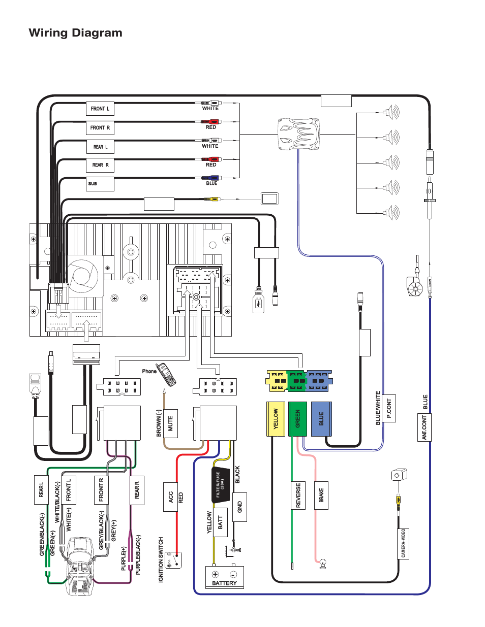 Viper 5000 Wiring Diagram Schematic Diagrams Basic Car Alarm Diagram Viper Car Alarm Wiring Diagram 5000