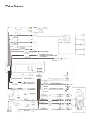 Wiring diagram | Jensen VM9214 User Manual | Page 4  12