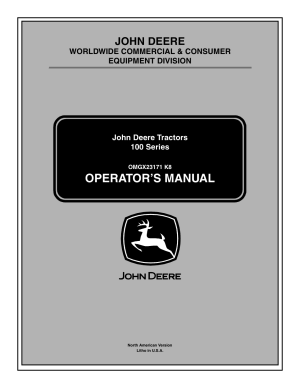 John Deere la105 User Manual | 52 pages | Also for