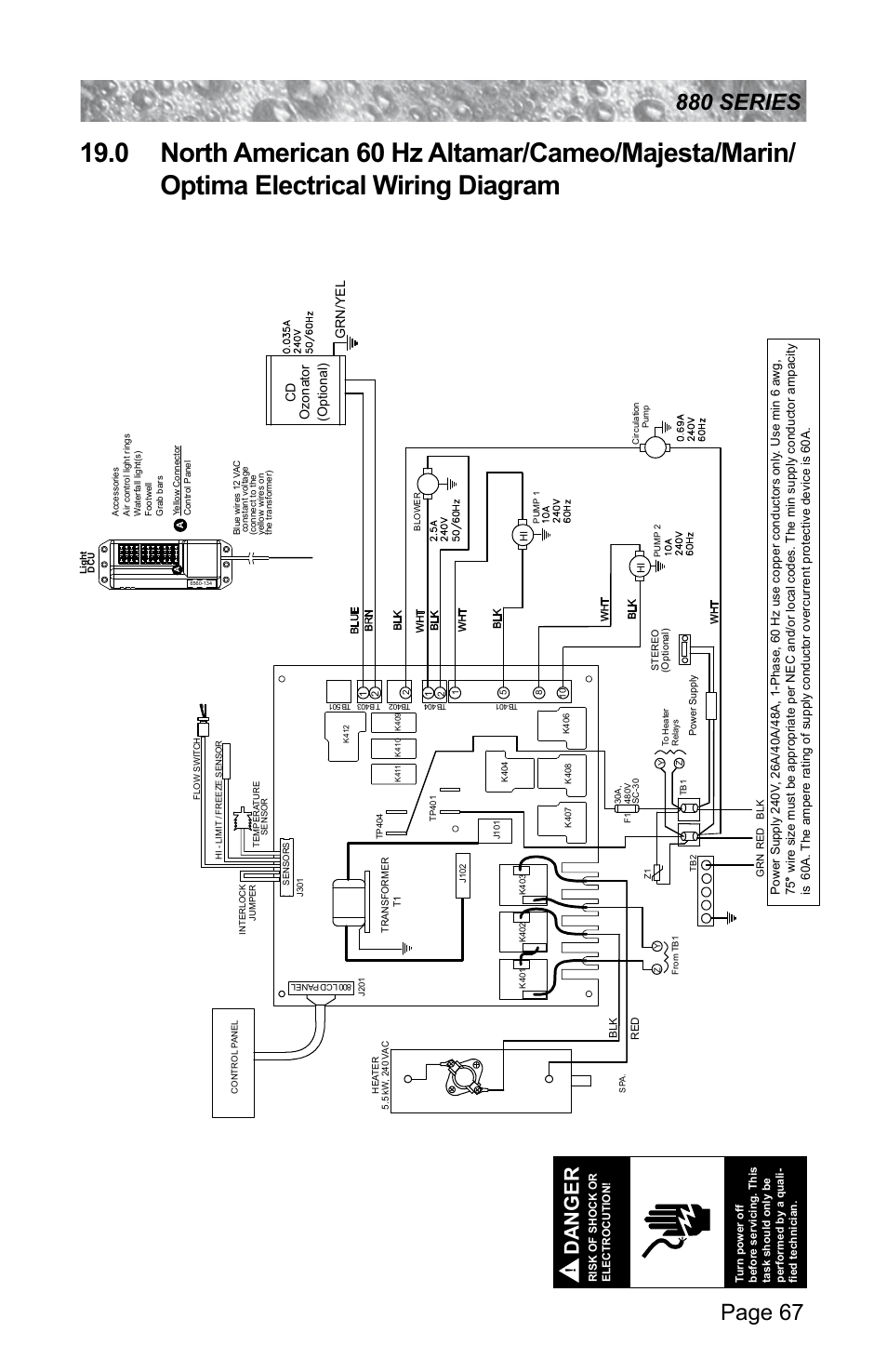 4919c Sundance Hot Tub Wiring Diagram