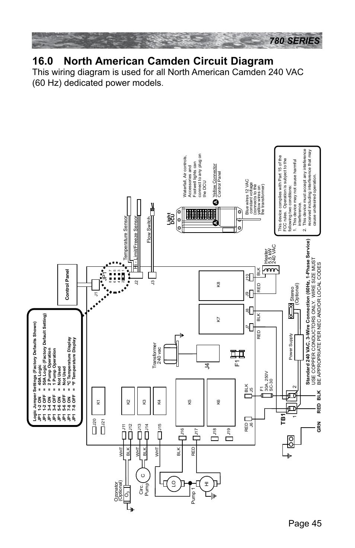 0 North American Camden Circuit Diagram