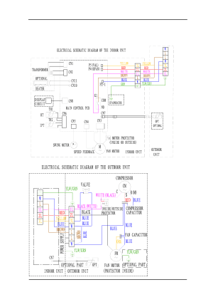 Electrical schematic diagram | Soleus Air KFTHP24 User Manual | Page 13  27