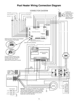 Pool heater wiring connection diagram, Jmp3 1 jmp3 1, Connection diagram | STARITE SR333LP User
