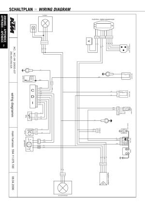 Schaltplan, Wiring diagram, Mar g ai d g ni ri w | KTM 250