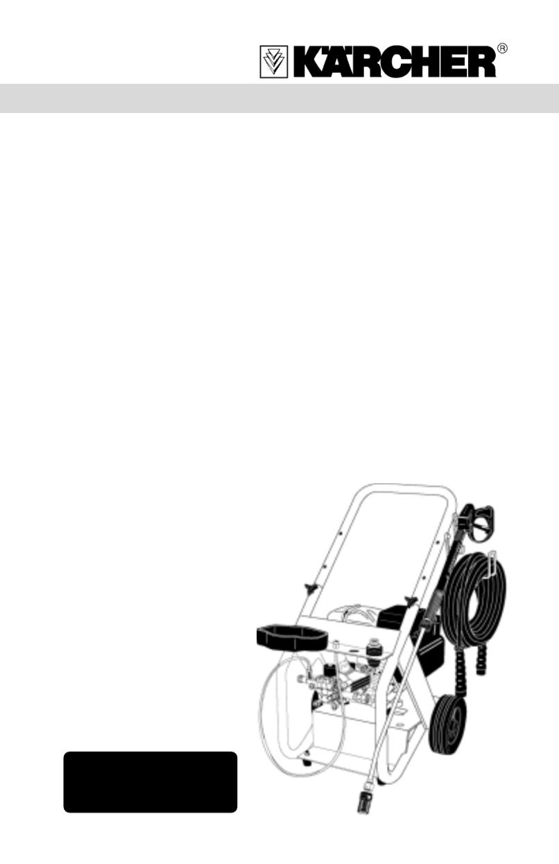 Karcher Pressure Washer 2400 Psi Manual