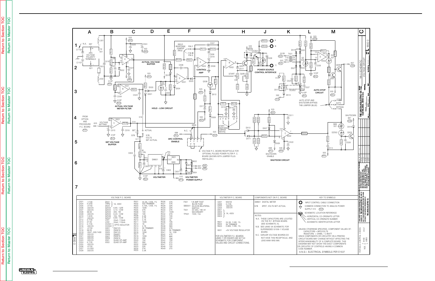 Electrical Diagrams Voltage Pc Board Schematic Na 5