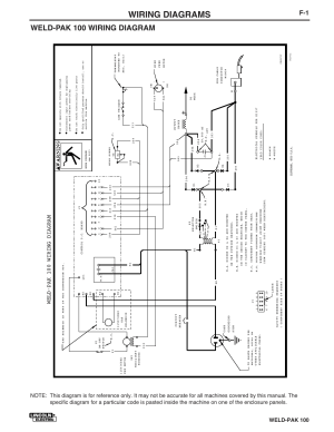 Wiring diagrams, Weldpak 100 wiring diagram, Weldpak 100