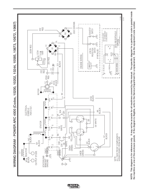 Diagrams, Powerarc 4000 | Lincoln Electric POWERARC 4000 User Manual | Page 45  52