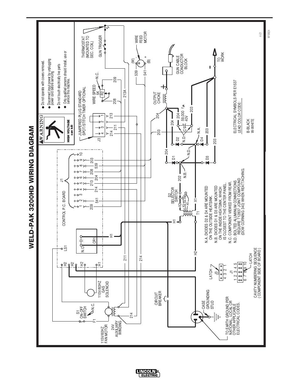 Lincoln 225 Welder Wiring Diagram - Wiring Diagrams Schematics