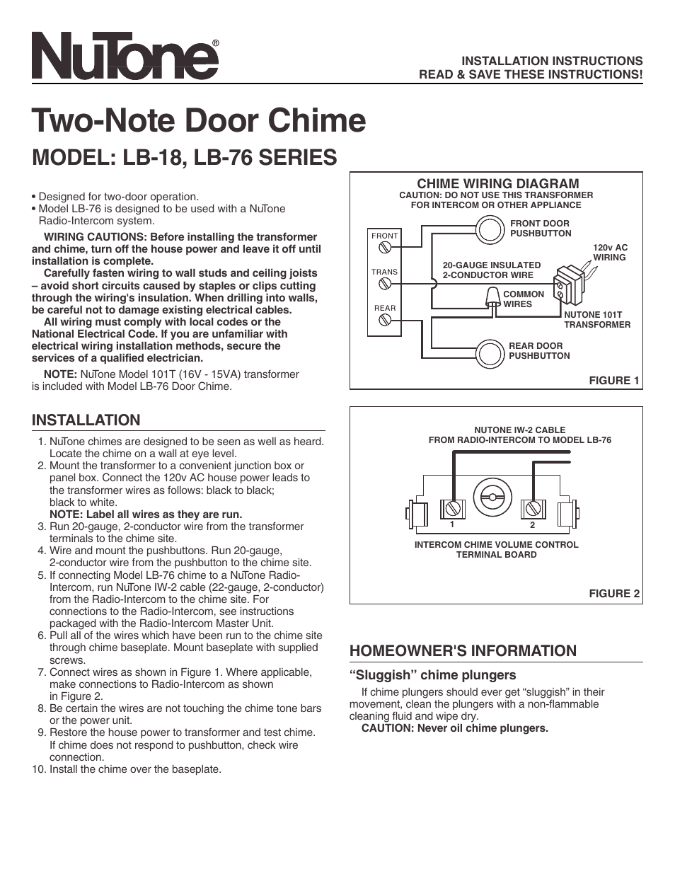 nutone two note door chime lb 76 page1?resize\\\\\\\\\\\\\\\\\\\\\\\\\\\\\\\=665%2C861 friedland type 4 nom ance wiring diagram friedland d107 wiring  at virtualis.co