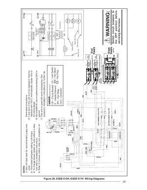 Warning, Single suppl y, Dual suppl y | Nordyne E3 Series