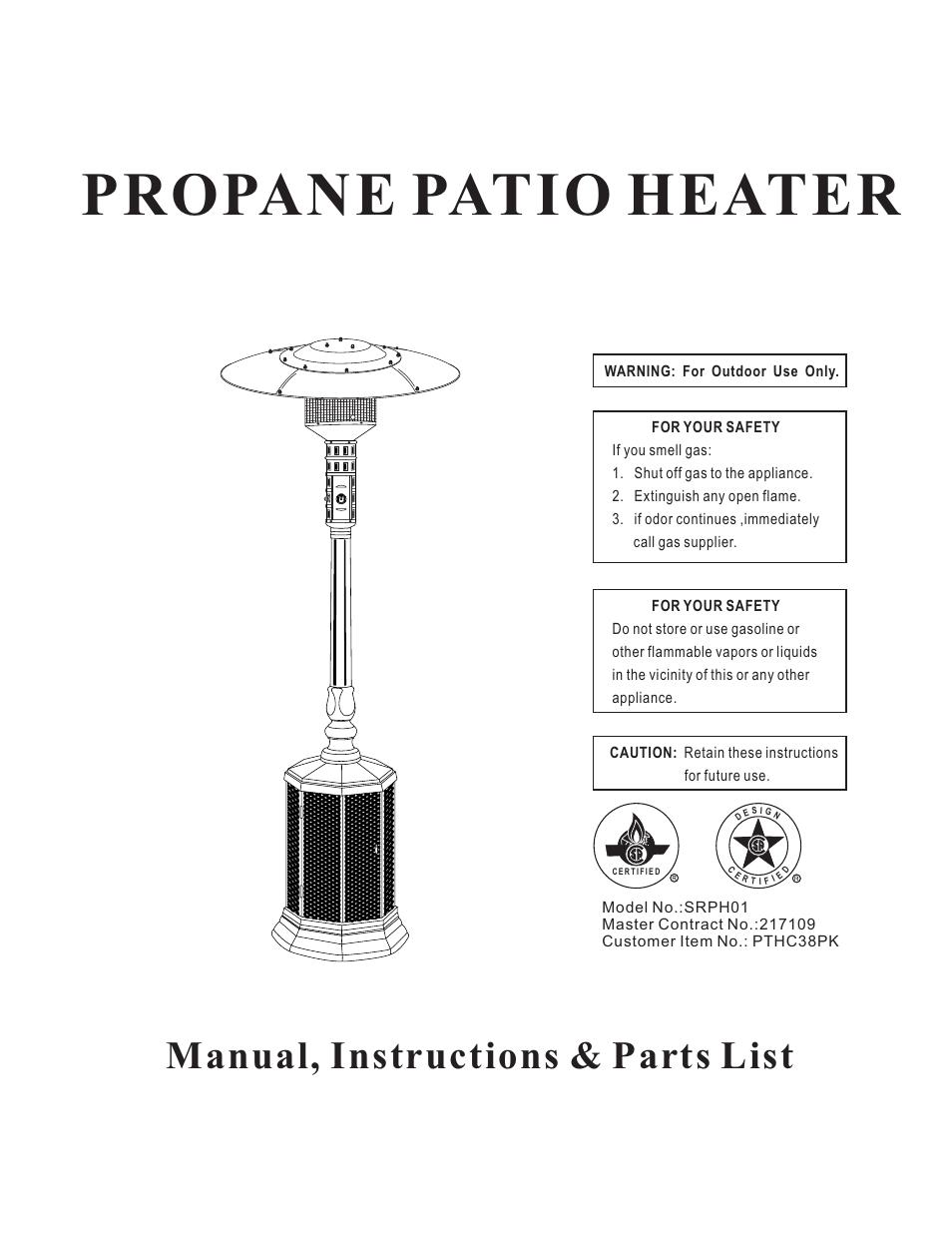 napoleon grills propane patio heater