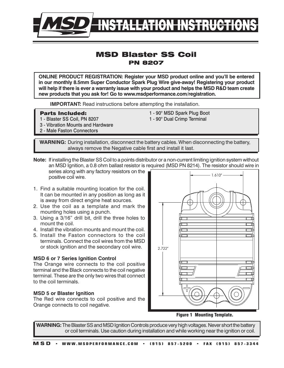 Enchanting Msd Digital 6 Wiring Diagram Gift - Wiring Diagram Ideas ...