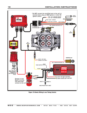 18 installation instructions m s d, Figure 19 atomic